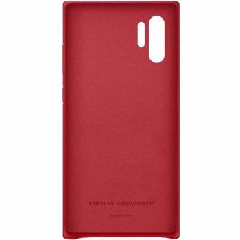 Protectie spate Samsung EF-VN975LREGWW Leather pentru Samsung Galaxy Note 10 Plus (Rosu)