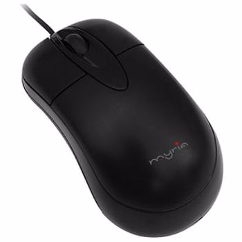 Mouse optic cu fir MYRIA MY8511, USB, negru