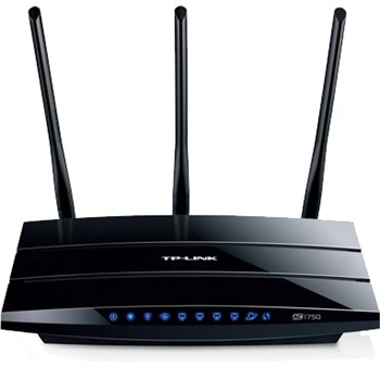 Router wireless TP-LINK ARCHER C7, Dual Band, AC 1750Mbps USB Negru