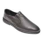Pantofi OTTER negri, 66401, din piele naturala