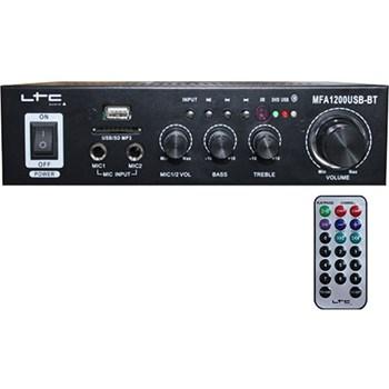 Amplificator karaoke 2x50w usb/sd/bluetooth negru mfa1200usb-bl