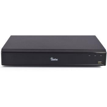 DVR 16 canale Safer 4K Pentabrid, audio prin HDCVI, H.265+, 1 x HDD, SAF-16X-8MP