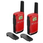 Statie radio Statie radio PMR portabila Motorola TALKABOUT T42 RED set cu 2 buc