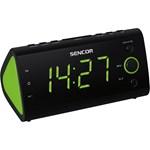 Radio cu ceas deşteptător Sencor SCR 170, ecran verde