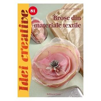 Broşe din materiale textile. Idei creative 81