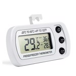 Termometru digital refrigerare, ecran LCD 1.96 inch, afisare minim si maxim temperatura