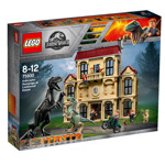 LEGO 75930 Jurassic World Indoraptor Rampage at Lockwood Estate Hybrid Species Dinosaur Figures in Mystery Mansion, Fallen Kingdom Movie Set for 8-12 Years Old Boys and Girls