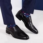 Pantofi barbati Parras negri eleganti