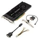 Placa video PNY Quadro K4000, 3GB GDDR5, 192-bit
