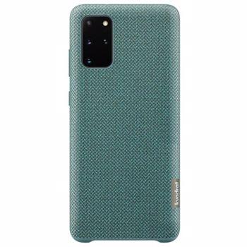 Protectie Spate Kvadrat Samsung EF-XG985FGEGEU pentru Samsung Galaxy S20 Plus (Verde)