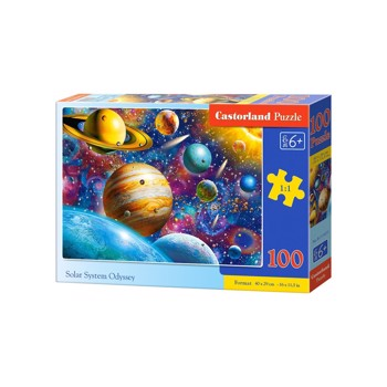 Puzzle Castorland - Solar System Odyssey, 100 piese (111077)