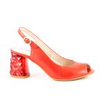 Sandale femei Enzo Bertini rosii din piele 1899ds1517sa