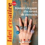 Idei Creative 123. Bijuterii elegante din sarma de aluminiu