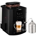 Espressor Krups EA8160, 1450W, 15 bar, 1.7 l, Negru