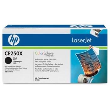 HP Toner BLACK NR.504X CE250X 10,5K ORIGINAL LASERJET CP3525N CE250X