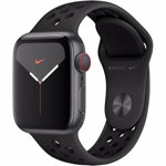 Smartwatch Apple Watch Nike Series 5 GPS Cellular 40mm Space Gray Aluminium Case Anthracite Black Nike Sport Band S/M & M/L