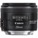 Obiectiv foto CANON EF 28mm f/1.8 USM