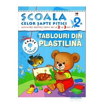 2+ Tablouri din plastilina - Activitati pentru copiii de la 2 la 3 ani 978-606-600-531-9