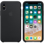Skin Apple iPhone X Negru mqt12zm/a