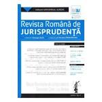 Revista romana de jurisprudenta Nr. 4 din 2017