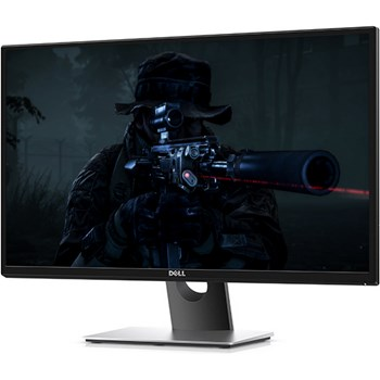 "Monitor Gaming LED IPS Dell 27"", Wide, FHD, HDMI, FreeSync , SE2717H, 75 Hz, Negru"
