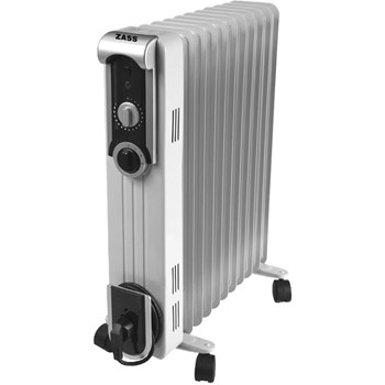 Radiator cu ulei ZASS ZR13SL 2500W 3 trepte de putere termostat reglabil Alb ZR 13 SL