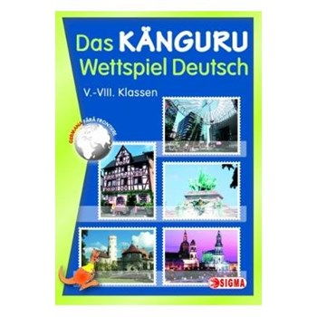 Cangurul clasa 5-8 2014 lb. germana (Das Kanguru Wettspiel Deutsch)