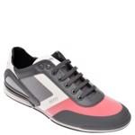 Pantofi sport HUGO BOSS negri, 8234, din material textil si piele ecologica