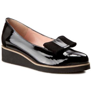 Pantofi EKSBUT - 26-4042-121/136-1G Czarny Lakier