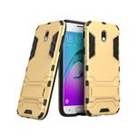 Husa hibrid g-shock pentru Samsung Galaxy J3 2017 SM-J330 (versiune Europa) auriu