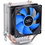 Cooler DeepCool CPU, universal, soc LGA115x/775 & FMx/AMx/940/939/754, 2x heatpipe, 100W 'ICEEDGE M