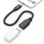 Adaptor USB Type C, OTG, USB Type-C plug - A socket HAMA 178258, negru