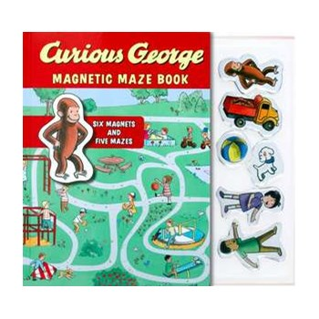 Curious George Magnetic Maze Book, Hardcover