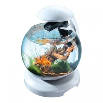 Bol Acvariu Tetra Cascade Globe - 6.8 L Alb