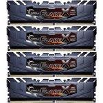 Memorie G.Skill F4-2400C15Q-64GFX, D4, 2400 MHz, 64GB, C15 GSkill FlareX K4