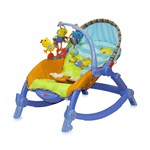 Balansoar bebe Lorelli Classic Chill Out 3 in 1 - Blue