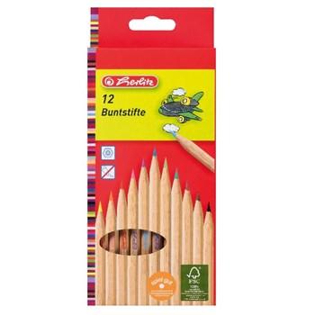 Creioane color natur 1/1 set 12 buca?i