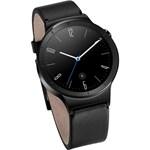 Smartwatch Huawei W1 Metalic Negru Bratara Piele Neagra
