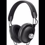 Casti audio On-Ear Panasonic RP-HTX80BE-K, Microfon, Negru