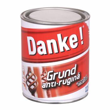 Grund metal  anti-rugina Danke, interior/exterior, rosu-oxid 2.5L