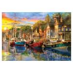 Puzzle KS Games - Harbour Lights, 3.000 piese (23006)