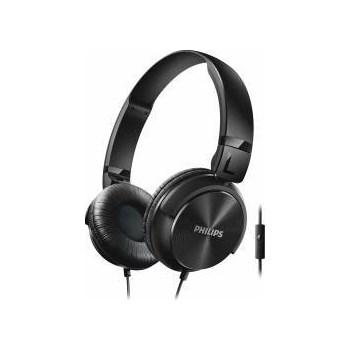 Casti cu Microfon Philips SHL3065BK00 Negre shl3065bk/00