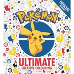 Official Pokemon Ultimate Creative Colouring, Paperback