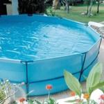 ManufacturGre Prelata izoterma pentru piscina rotunda cu diametrul 455 cm, 180 microni