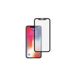 Folie Sticla Roar pentru iPhone X , iPhone XS, 5D, Full Cover ,Negru