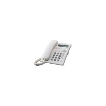 Telefon analogic cu fir Panasonic KX-TSC11FXW, Alb, Caller ID