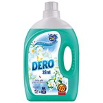 Detergent automat lichid DERO 2 in 1 Iris Alb si Romanita, 2.94l