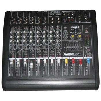 Mixer cu amplificator 2 x 250W 10 canale