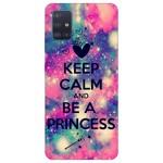 Husa Silicon Soft Upzz Print Samsung Galaxy A51 Model Be Princess