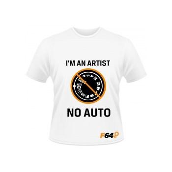 Tricou alb - I am an Artist (No Auto) - L
